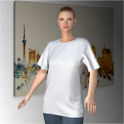 Sublimiertes Damen T-Shirt Eden Terrace