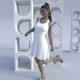 Women's Sleeveless Deep Round Neck Sublimated Dress Himatangi Beach custom designed
