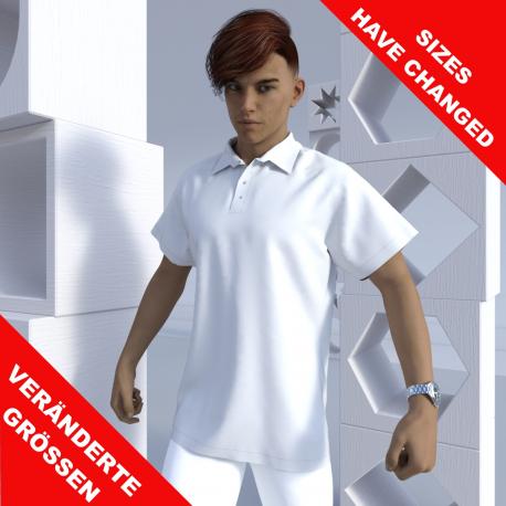 "Kurzarm Polo shirt ""Raglan"""