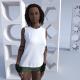 Damen Ärmelloses V-Neck frei gestaltbares T-Shirt Hikurangi