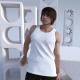 Men's Deep Round Neck custom sublimated design Singlet Matakohe