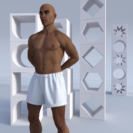 Unisex Shorts Katikati for customized sublimation printing