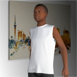 Kids sumblimated Sleeveless Shirt Ellerslie
