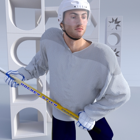 5 panel Ice Hockey