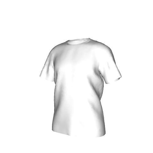 Sporty men's short-sleeved T-shirt