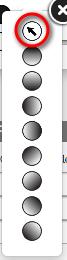 Drag gradient